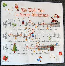 decoupage paper of we wish you a merry napkin