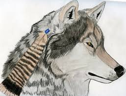 feather wolf by astrid onyxwolf on deviantart