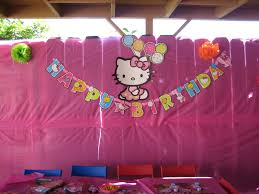 Hello Kitty Party Decorations The Sweet U0026 Simple Sisters