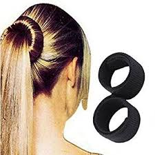 donut bun hair buy artifice hair donut bun maker magic tool sweet dish