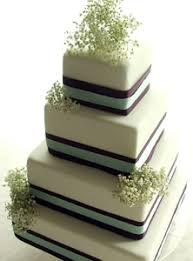 purple and sea green stacked wedding cake stacked simple d u2026 flickr