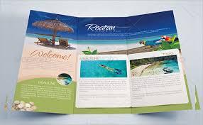 island brochure template 19 tourism brochure eps psd format