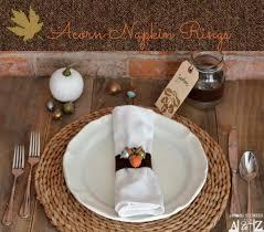 napkin rings thanksgiving divascuisine