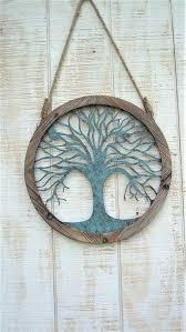 wood tree wall decor another great find on wood metal tree wall