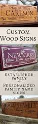 Wood Signs Home Decor Last Name Decorative Signs Best Decoration Ideas For You