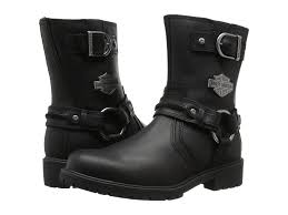 black leather motorcycle boots harley davidson abner black leather men u0027s biker boots motorbike