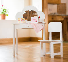 childs vanity table childres white dressing table u0026 chair set just 49 99