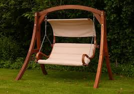kingdom arc garden swing seat