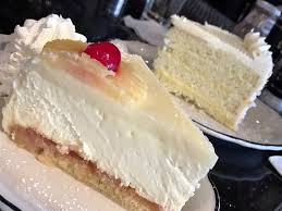 pineapple upside down cheesecake and coconut lemon cake picture