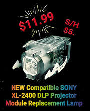 xl 2400 l replacement sony xl 2400 rear projection tv ls ebay