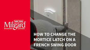 How To Remove A Patio Door by How To Change The Mortice Latch On A French Swing Patio Door Youtube