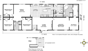 large single house plans uncategorized single wide mobile home floor plans and pictures