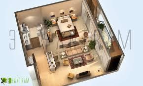 Dream Home 3D Floor Plan Design in Virginia Washington USA