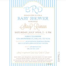 Babyshower Invitation Card Monogram Baby Shower Invitations Theruntime Com