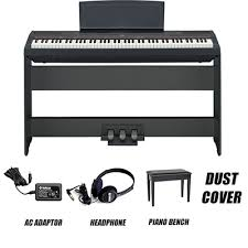 Yamaha Piano Bench Adjustable Yamaha P 115 Digital Piano Singapore Singapore Best Price U0026 Sale