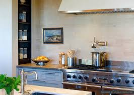 3 beige limestone subway kitchen backsplash idea backsplash com