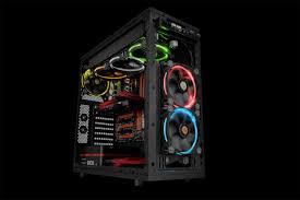 120mm rgb case fan thermaltake riing 12 rgb series 120mm led rgb 256 colors case fan