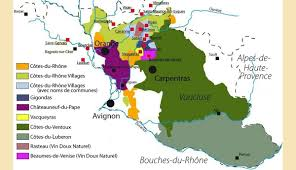 Provence Map Winemap North