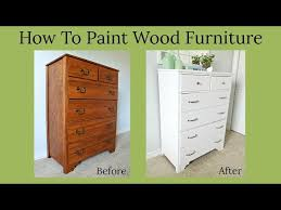 what is the best way to paint wood kitchen cabinets how to paint wood furniture