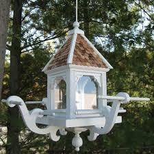 decorative bird feeders yard envy