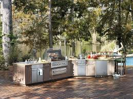 beautiful viking outdoor kitchen also cabinets ideas pictures
