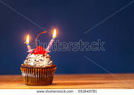 birthday cupcake stock images royalty free images u0026 vectors