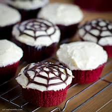 a spooky halloween treat red velvet cupcakes a sweet muddle