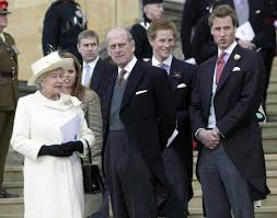 gallery a look back at the wedding of prince charles and camilla