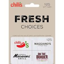 chili gift card maggianos gift card lamoureph
