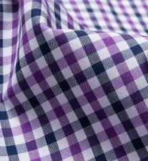 Gingham Vs Plaid Vs Tartan Purple And Navy Gingham Shirts By Proper Cloth