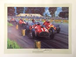 vintage ferrari art ferrari f1 prints u0026 paintings