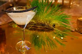 martini lavender monday morning bartender here comes the bride quick get her a