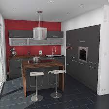 meuble cuisine et gris impressionnant meuble cuisine gris pour idees de deco de cuisine