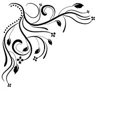 corner pattern png floral corner clip art scrolls 246435 png entry table pinterest