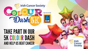 colour dash irish cancer society