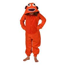 Goldfish Halloween Costume Goldfish Onesie Orange Kids Afreaka Clothing