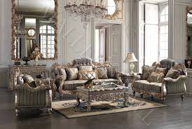 Chair Sets For Living Room Italian Carved Tufted Silver Gold Leaf Sofa Set Sofa Loveseat