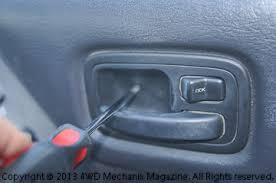 moses ludel u0027s 4wd mechanix magazine how to jeep cherokee power