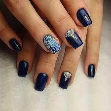 Nail Art Nail Polish Designs 30 Dark Blue Nail Art Designs Dark Blue Nails Blue Nails And
