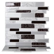 Red And Black Kitchen Tiles - peel and stick backsplash tile you u0027ll love