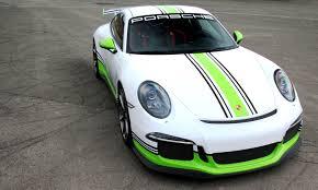 porsche 911 dark green fostla de shows artful porsche 911 gt3 foil wrap design and execution