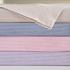 candy stripe bed linen feather u0026 black
