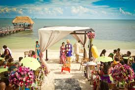 destination wedding a beachside indian destination wedding mexico indian