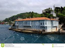 traditional waterfront houses on the bosphorus stock photo image