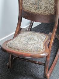 Folding Rocking Chair Antique Victorian Folding Rocking Chair Home Chair Decoration