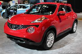 red nissan car nissan juke prepares for e power the news wheel