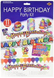 Cubicle Decorating Kits Amazon Com Happy Birthday Cubicle Decorating Kit Each Home
