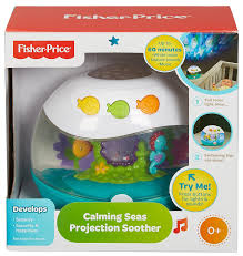 Baby Ceiling Light Projector by Amazon Com Fisher Price Calming Seas Projection Soother Baby