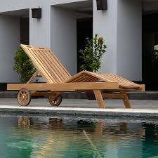 Outdoor Sun Lounge Chairs This Classic Teak Sun Lounger Patio Outdoor Furniture Is Made From