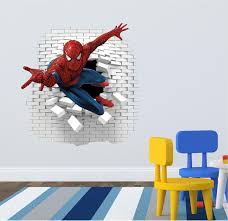 spiderman wall decal great for the kids room artogtext spiderman wall decal great for the kids room artogtext etsy